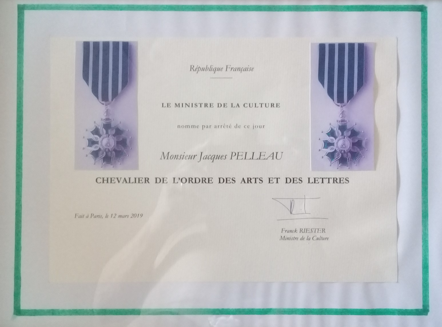 diplome arts lettres